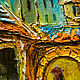 Город ручной работы. Поздний поцелуй (объёмная живопись). Виктория Родионова. Интернет-магазин Ярмарка Мастеров. Картина, романтика, любовь