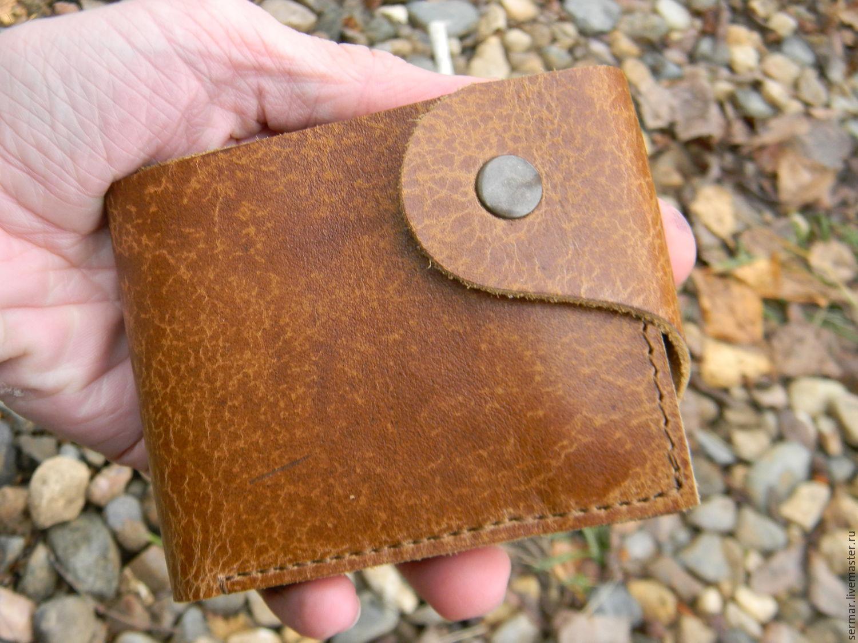 Wallet mens leather, Wallets, Kineshma,  Фото №1