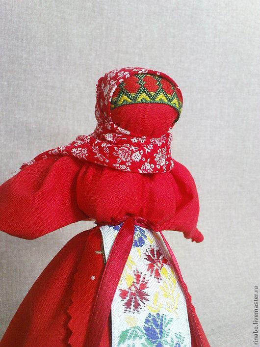 Народные куклы ручной работы. Ярмарка Мастеров - ручная работа. Купить кукла Пасхальная голубка. Handmade. Ярко-красный