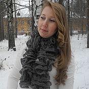Аксессуары ручной работы. Ярмарка Мастеров - ручная работа Шарф вязаный Импровизация,купить шарф,купить вязаный шарф. Handmade.