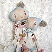 Куклы и игрушки ручной работы. Ярмарка Мастеров - ручная работа Шерочка с Машерочкой. Handmade.