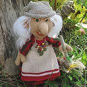 Куклы и игрушки ручной работы. Ярмарка Мастеров - ручная работа Кукла Бабка Ежка. Handmade.