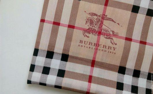 Шитье ручной работы. Ярмарка Мастеров - ручная работа. Купить Ткань хлопок Шотландка. Брендовая ткань для шитья, одежды, текстиля. Handmade.