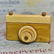 Куклы и игрушки handmade. Livemaster - original item Educational wooden toy for kids a Camera. Handmade.