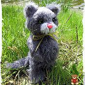Куклы и игрушки ручной работы. Ярмарка Мастеров - ручная работа котик-тедди  Котофей. Handmade.