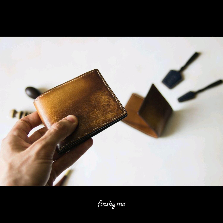 Компактный кожаный кошелек. Картхолдер, Кошельки и визитницы, Ставрополь, Фото №1