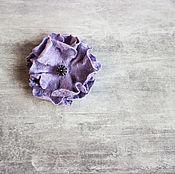 Украшения handmade. Livemaster - original item Felted brooch-flower