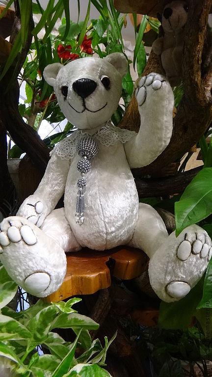Мишки Тедди ручной работы. Ярмарка Мастеров - ручная работа. Купить Медведица  Снежанка. Handmade. Медведь, авторская работа