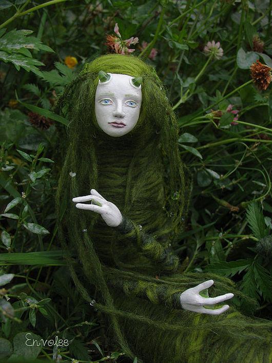 Коллекционные куклы ручной работы. Ярмарка Мастеров - ручная работа. Купить кукла Abysse(Глубина). Handmade. Гусеница, envolee, существо