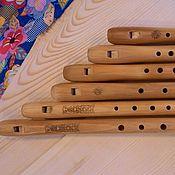 Музыкальные инструменты handmade. Livemaster - original item Flutes kit Svirel russian  (which is also a pipe, block flute, russian. Handmade.