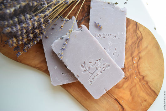 """Мыло ручной работы. Ярмарка Мастеров - ручная работа. Купить """"Lavandula""""  мыло по старинным рецептам. Handmade. Подарок, подарок женщине"""