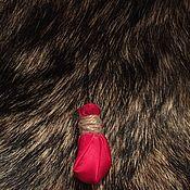 Ритуальная атрибутика ручной работы. Ярмарка Мастеров - ручная работа Колдовской мешочек с травами и руной. Handmade.