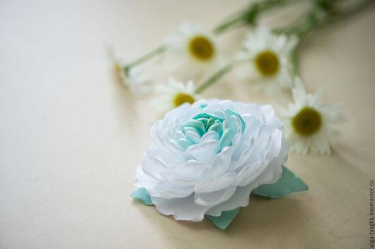 Детская бижутерия ручной работы. Ярмарка Мастеров - ручная работа. Купить Сказочный цветок на резинке, зажиме (на выбор). Handmade.