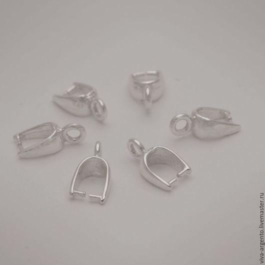 Для украшений ручной работы. Ярмарка Мастеров - ручная работа. Купить Бейл классический  серебро 925. Handmade. Бейл