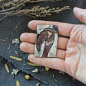 Украшения handmade. Livemaster - original item The Florentine mosaic. Brooch