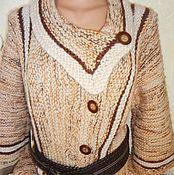 Одежда ручной работы. Ярмарка Мастеров - ручная работа Кардиган осенний. Handmade.