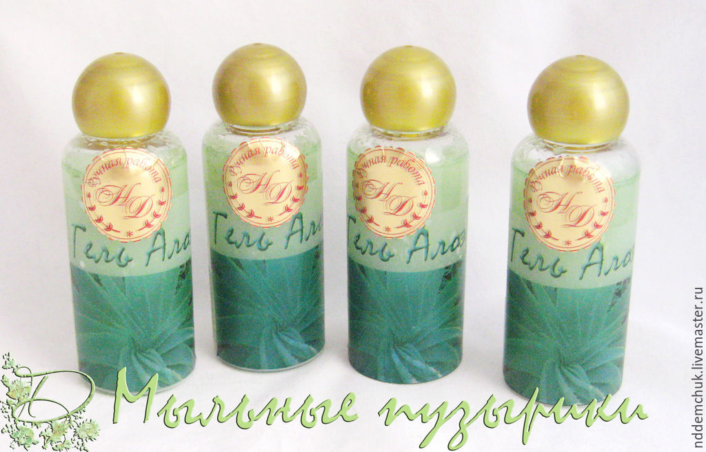 Moisturizing gel 'Aloe', Creams, Moscow,  Фото №1