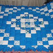 Для дома и интерьера ручной работы. Ярмарка Мастеров - ручная работа Лоскутное одеяло.. Handmade.