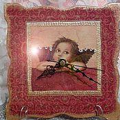 """Для дома и интерьера ручной работы. Ярмарка Мастеров - ручная работа Часы """"Ангелочек"""". Handmade."""