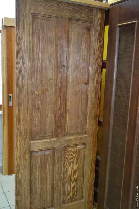 Мебель ручной работы. Ярмарка Мастеров - ручная работа. Купить Дверь из состаренного дерева. Handmade. Дверь, дерево