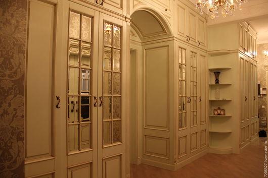 Изготовление встроенной мебели по индивидуальным размерам. Цена в 1 руб.условная, так как встроенная мебель индивидуальна по размеру и наполнению.