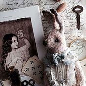 Куклы и игрушки ручной работы. Ярмарка Мастеров - ручная работа Облачный Кролик. Handmade.