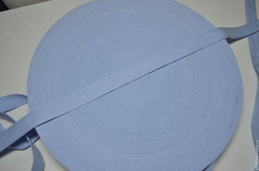 Вышивка ручной работы. Ярмарка Мастеров - ручная работа. Купить Лента киперная, Германия. Handmade. Голубой, лента киперная