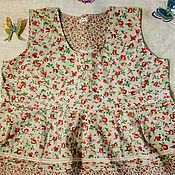 """Одежда ручной работы. Ярмарка Мастеров - ручная работа Бохо-блуза из хлопка """" Очарование """". Handmade."""