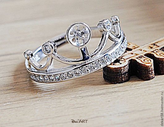 Для украшений ручной работы. Ярмарка Мастеров - ручная работа. Купить Основа для кольца посеребренная Арт. ОК92517. Handmade.