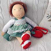 Вальдорфские куклы и звери ручной работы. Ярмарка Мастеров - ручная работа Вальдорфская кукла - девочка (42 см). Handmade.