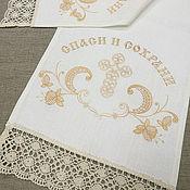 Русский стиль handmade. Livemaster - original item The towel on the icon. SKU: 08с792. Handmade.