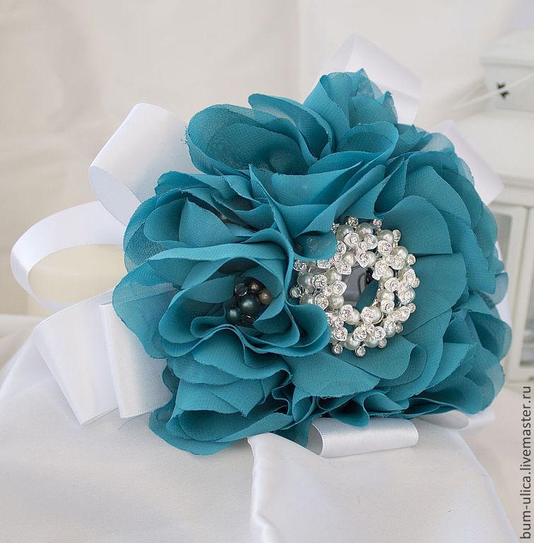 Свадебный букет голубой купить екатеринбург, букет с доставкой в одинцово