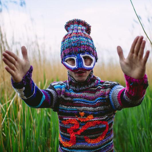 Этническая одежда ручной работы. Ярмарка Мастеров - ручная работа. Купить аум. Handmade. Вязайн, индуизм, вискоза