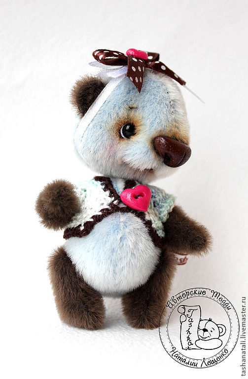 Мишки Тедди ручной работы. Ярмарка Мастеров - ручная работа. Купить Мини - панда ШокоБлю. Handmade. Панда, мини-панда