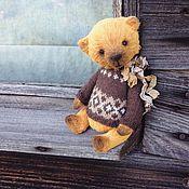 Куклы и игрушки ручной работы. Ярмарка Мастеров - ручная работа Желтый Миша. Handmade.