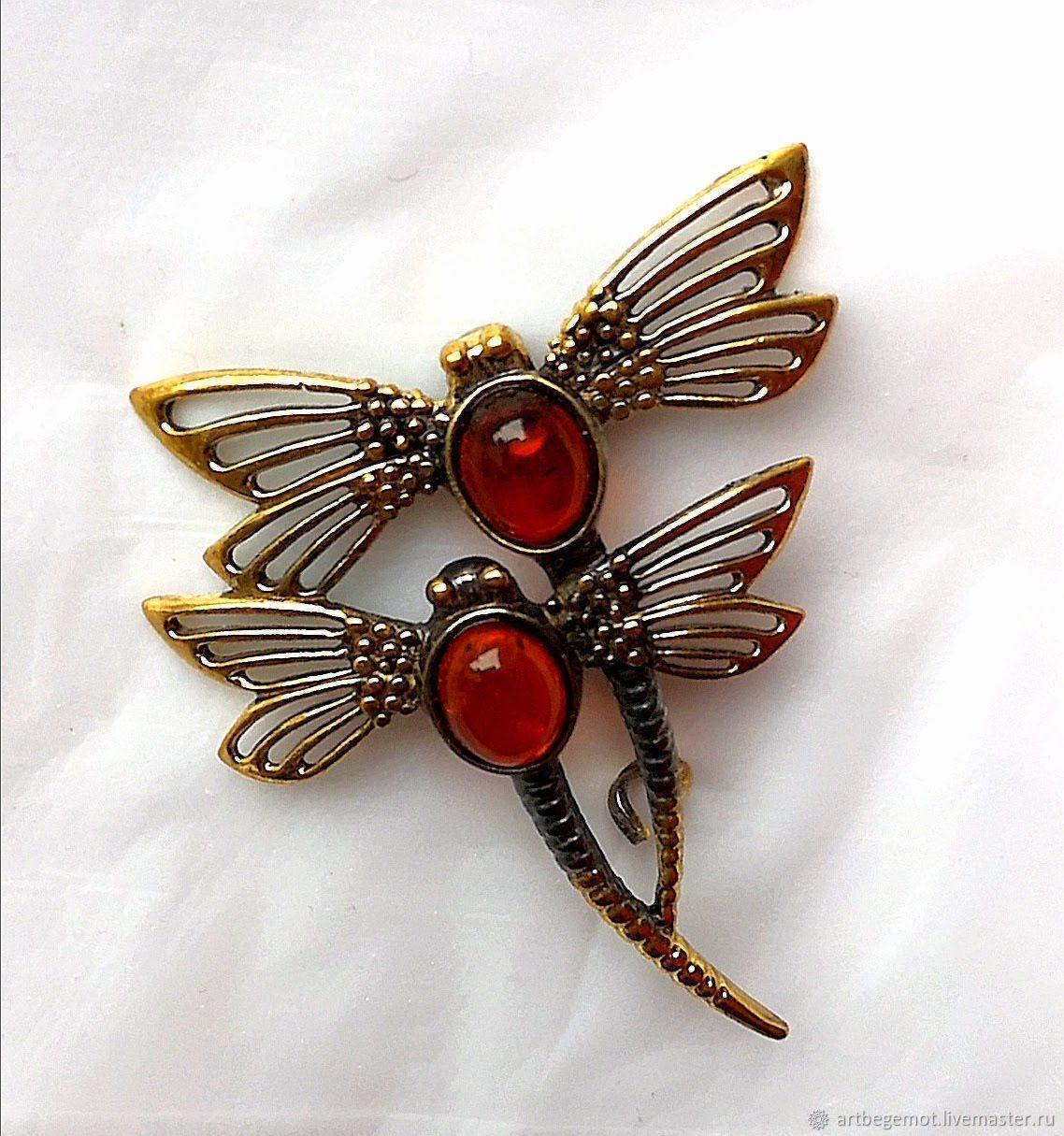 Brooch-pin: Dragonfly Brooch, Brooches, Kaliningrad,  Фото №1