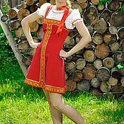 Народные костюмы ручной работы. Ярмарка Мастеров - ручная работа Арт. 1211. Handmade.
