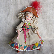 """Куклы и игрушки ручной работы. Ярмарка Мастеров - ручная работа Кукла """"Коломбина"""". Handmade."""