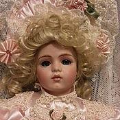 Куклы и игрушки ручной работы. Ярмарка Мастеров - ручная работа Антикварные французские куколки, РЕПЛИКА,. Handmade.
