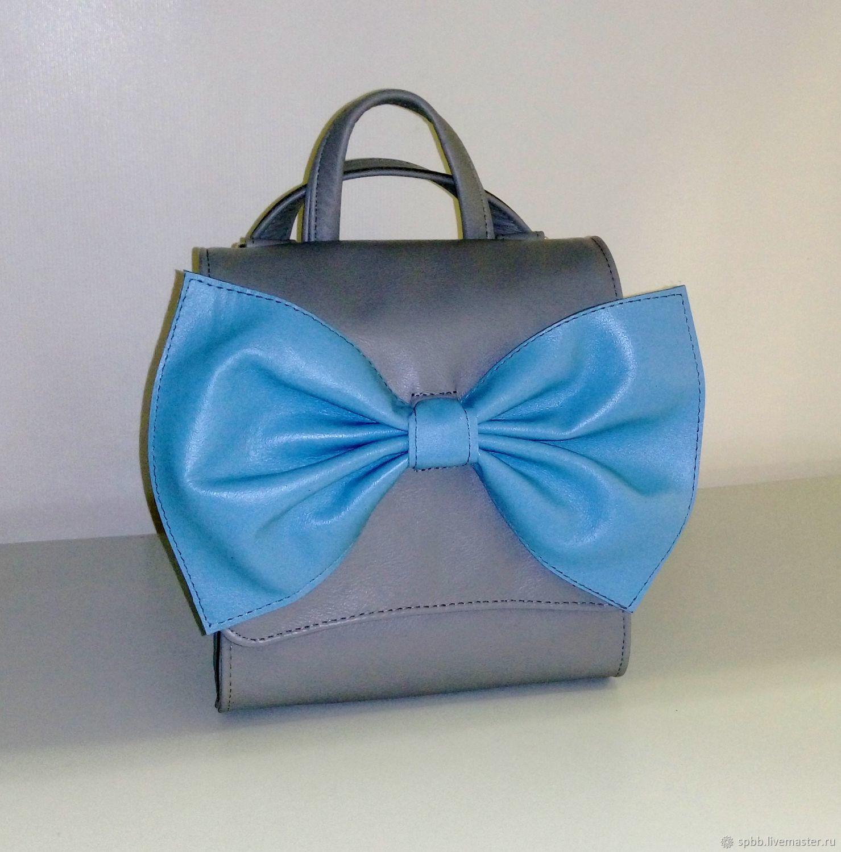 Backpacks handmade. Livemaster - handmade. Buy Leather backpack-bag.Bag, backpack female, backpack leather city