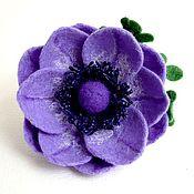 Украшения ручной работы. Ярмарка Мастеров - ручная работа Брошь «Lilac». Handmade.