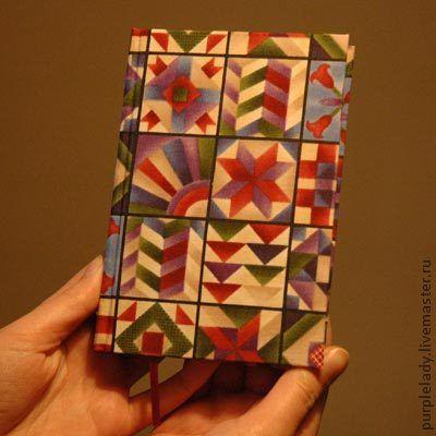 Блокноты ручной работы. Ярмарка Мастеров - ручная работа. Купить Блокнот. Handmade. Блокнот, геометрический узор, бумага, лента