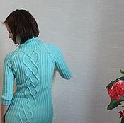 """Одежда ручной работы. Ярмарка Мастеров - ручная работа Платье вязаное """"Мятное"""". Handmade."""