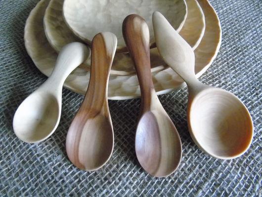 Ложки ручной работы. Ярмарка Мастеров - ручная работа. Купить ложки деревянные. Handmade. Комбинированный, грызунки для малышей, сервировка стола