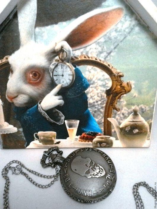 """Часы ручной работы. Ярмарка Мастеров - ручная работа. Купить Часы карманные """"Death Note"""" (черные). Handmade. Часы, подарок"""