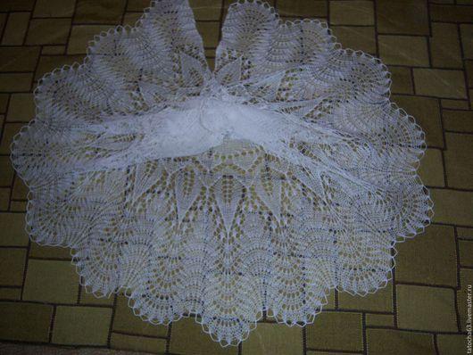 Шали, палантины ручной работы. Ярмарка Мастеров - ручная работа. Купить шаль ажурная. Handmade. Шаль вязаная, шаль в подарок