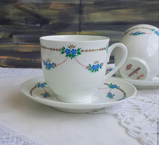 Винтажная посуда. Ярмарка Мастеров - ручная работа. Купить Кофейные пары. Handmade. Комбинированный, фарфор, СССР, советский фарфор, винтаж