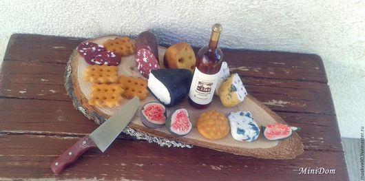 Кукольная еда Миниатюра для кукол кукольный дом домик Кукольная миниатюра Еда для кукол сырная доска необычный подарок Ручная работа Аксессуары для кукол Кукольный аксессуары Для кукольной миниатюры