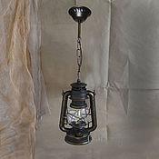 Для дома и интерьера handmade. Livemaster - original item Chandelier ceiling pendant lamp Kerosene lamp electric. Handmade.