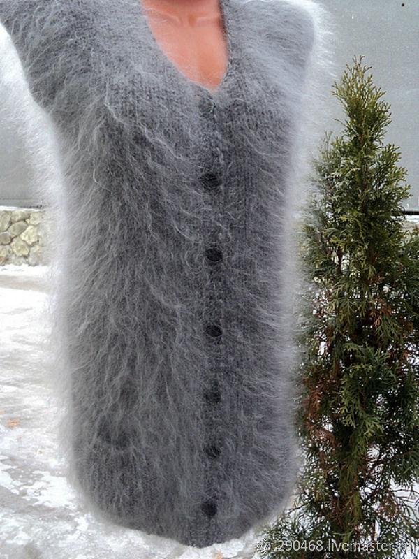 Жилет пуховый на пуговицах, Жилеты, Урюпинск,  Фото №1